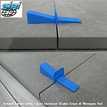 2cm Outdoor Slabs 2mm Tile Spacers Smart Level