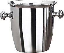 2L/5L Stainless Steel Thickened Ice Bucket Wine