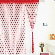 2m*1m Heart String Curtain Window Door Balcony
