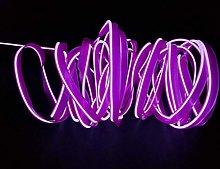 2M/6FT USB EL Wire Super Bright Light Neon Tube