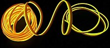 2M/6FT USB Neon EL Wire Glowing Electroluminescent