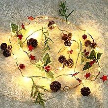 2M Christmas Fairy String Lights, Pine Cones