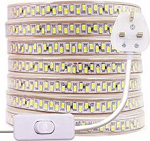 2m LED Strip Lights with Switch Plug (80cm Cable),