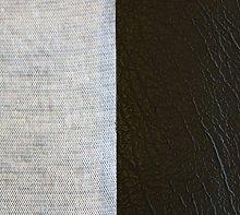 2m x 1.4m Of AestheTex Black Vinyl Fabric - Ideal