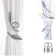 2Pack Curtain Tiebacks Clips/Decorative Rope