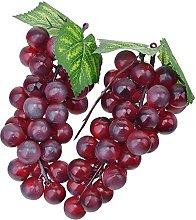 2pc Plastic Grapes Plastic Artificial Fruit