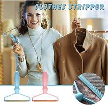 2pc Portable Manual Clothes Lint Remover Fuzz