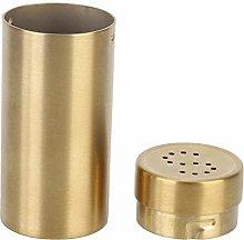 2pc Stainless Steel Salt and Pepper Dispenser
