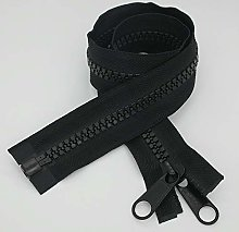 2PCS #10 24 Inch Heavy Duty Zippers for Sewing