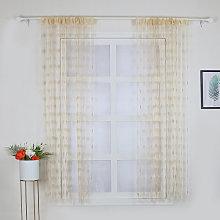 2Pcs 100*200cm Novelty Heart Decor Window Room