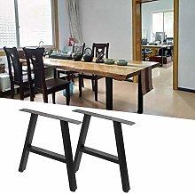 2Pcs A-Frame Table Legs Metal DIY A-Type Desk Legs