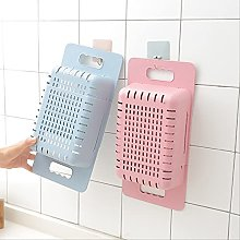 2pcs Adjustable Dish Drainer Sink Drain Basket