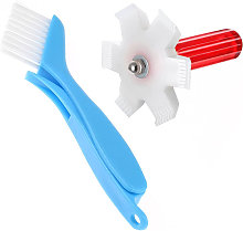 2pcs Air Conditioner Condenser Fin Cleaning Brush