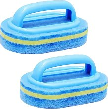 2Pcs Cleaning Brush,Bathroom Cleaning