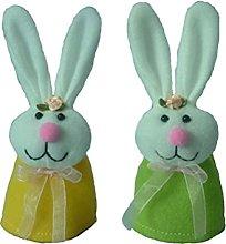 2pcs Easter Egg Holder Bunny Rabbit Shape Egg