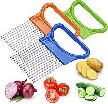 2PCS Food Slice Assistant Onion Holder