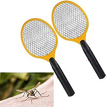 2PCS Handheld Electric Mosquito Swatter 3-Layer