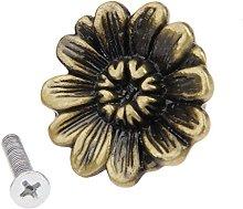 2Pcs Knob Antique Bronze Decorative Handle Pull