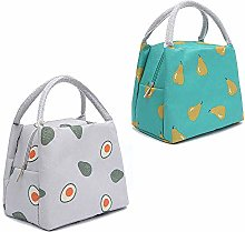 2Pcs Lunch Bags Insulated Cooler, Insulated Lunch