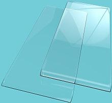 2pcs Mini Hand Crank DIY Paper Embossing Machine Stencil Plate Replacement Pad Die Cut Machines Cutter Accessories