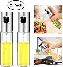 2Pcs Olive Oil Sprayer Vinegar Sprayer Bottle -