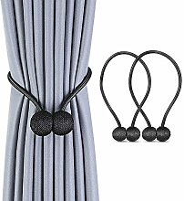 2PCS Pearl Magnetic Ball Curtain Simple Tie Rope