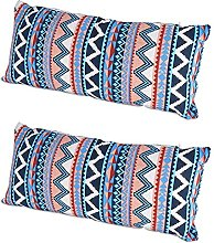 2pcs Portable Camping Pillow Ethnic Style