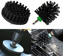 2Pcs Power Scrubber Drill Brush Attachment Set