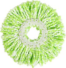 2Pcs Replacement Round Microfiber Mop Head