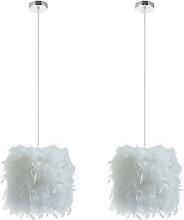 2pcs Romantic Ceiling Lamp Contemporary Creative