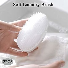 2Pcs Scrubbing Brush Soft Wool Clothes Brush