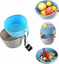 (2pcs Set) Drainage Filter Basket Set,