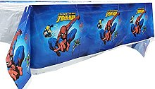 2Pcs Tablecloth Spiderman-Themed Party Supplies,