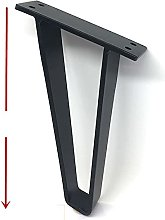 2pcs U-Shaped Gold Hairpin Table Desk Leg Bracket