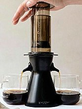 2POUR (Black) New Dual Accessory for The Aeropress