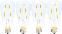 2W E27 Vintage Light Bulbs LED Filament Dimmable