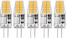 2W G4 LED Capsule Bulbs Cool White 6000K AC/DC 12V