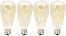 2W Non-dimmable Vintage Light Bulb, Retro Edison