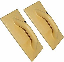 2X 280x140mm Plastic Float Trowel Plastering