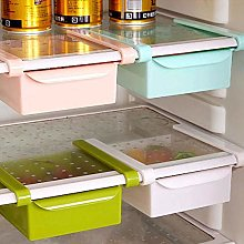 2X Fridge Box Can Holder Kitchen Shelf Organiser