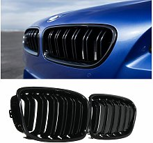 2x Gloss Black Grille Grill For BMW F20 / F21