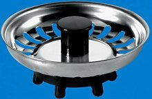 2X McAlpine Replacement Basket Strainer Waste Plug