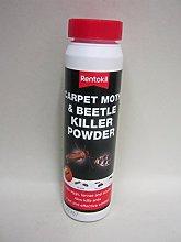 2X Rentokil Carpet Moth Beetle Killer Powder