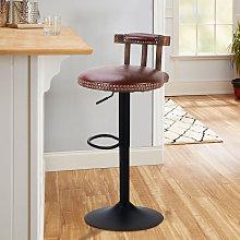 2x Rustic Industrial Vintage Retro Breakfast Bar