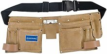 2XDouble Pouch Tool Belt 11 Pocket 300 x 200 mm