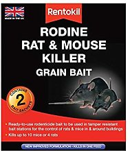 2XRodine Mouse & Rat Killer Grain Bait Pack of 6
