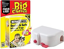 2xThe Big Cheese Sealed and Safe Mouse Trap
