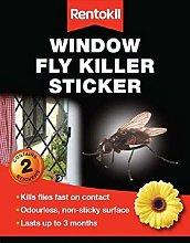 2XWindow Fly Killer Sticker