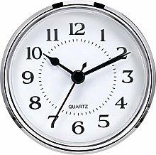3-1/2 Inch (90 mm) Quartz Clock Fit-Up/Insert with