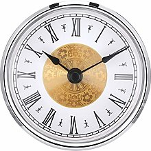3-1/8 Inch (80 mm) Clock Insert with Roman
